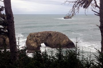 Road trip on Oregon California coast