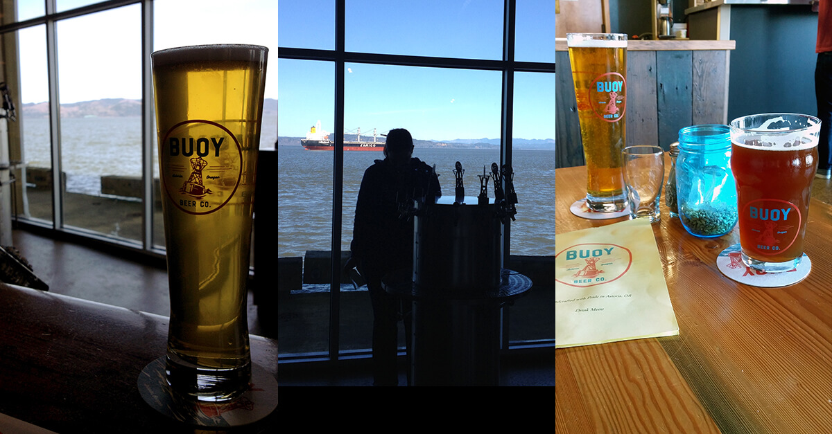 Astoria, Oregon - Buoy Brewery