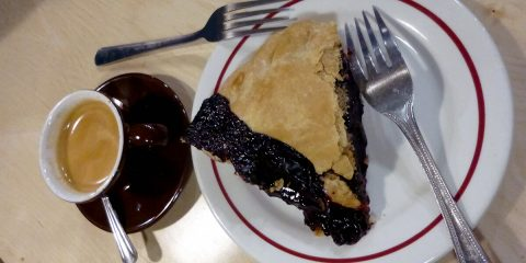 Most underrated Portland - Pie and coffee at Bipartisan Cafe