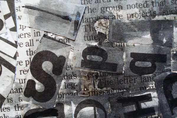 Newspaper texture by Elena