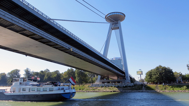Bratislava - UFO Bridge - Where Is Your Toothbrush
