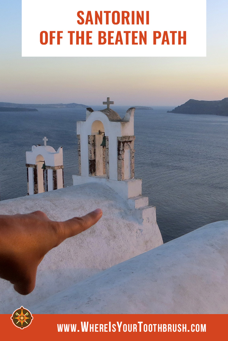 Travel bliss in Santorini