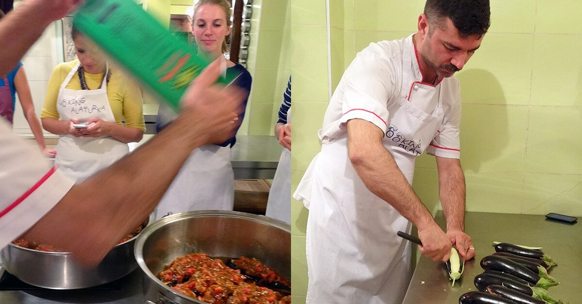 Cooking class in Istanbul