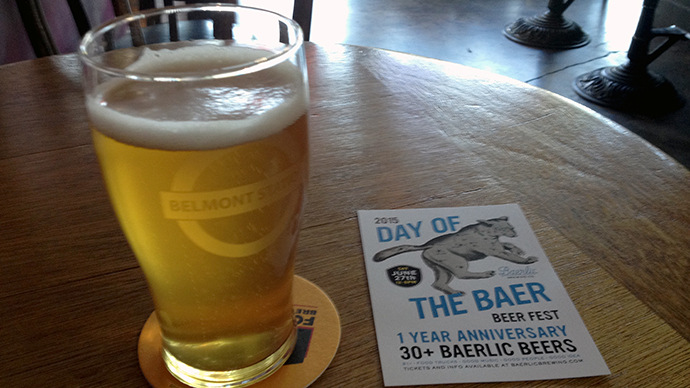 Best Oregon Pilsner - Baerlic Pilsner at Belmont Station