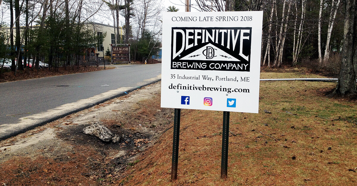 Breweries Portland Maine - Definitive Brewing