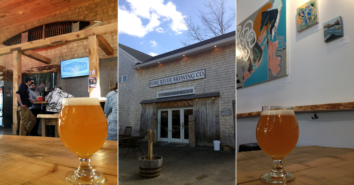 South Portland Maine brewery - Fore River Brewing