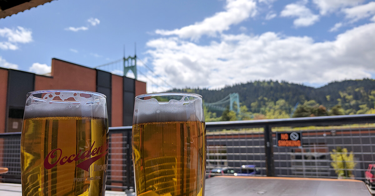 Things to see and do in Portland Oregon - Occidental Brewery