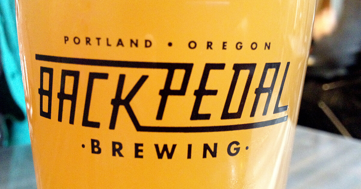 Northwest Portland breweries - Backpedal