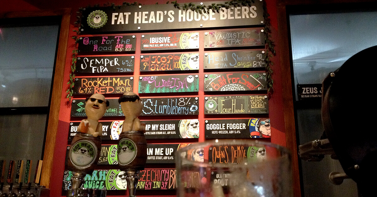 NW Portland breweries - Fat Head's