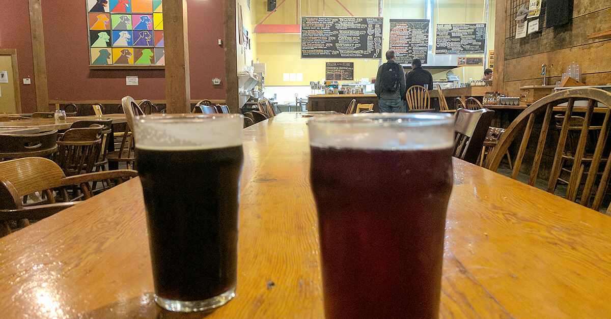 NW Portland breweries - Lucky Lab