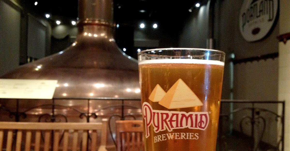 NW Portland breweries - Pyramid