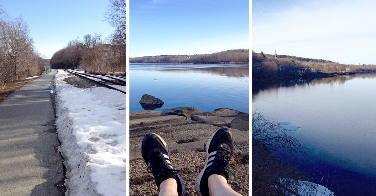 Things to do in Augusta Maine - Kennebec River Rail Trail