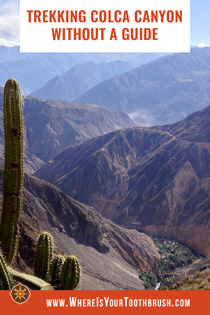 Colca Canyon trekking without a guide