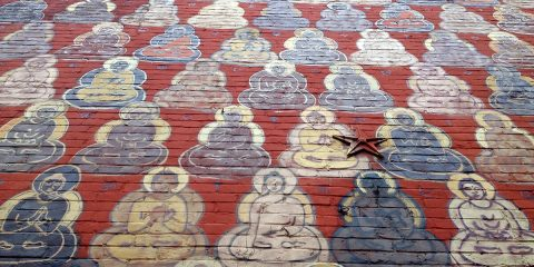 Washington DC off the beaten path - Buddha Mural
