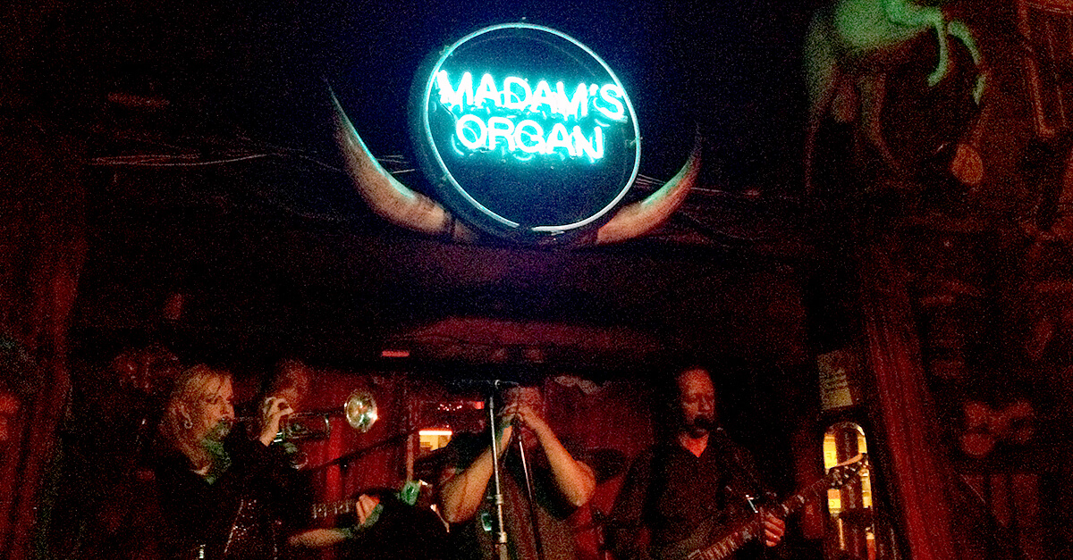 Washington, DC off the beaten path - Madam's Organ