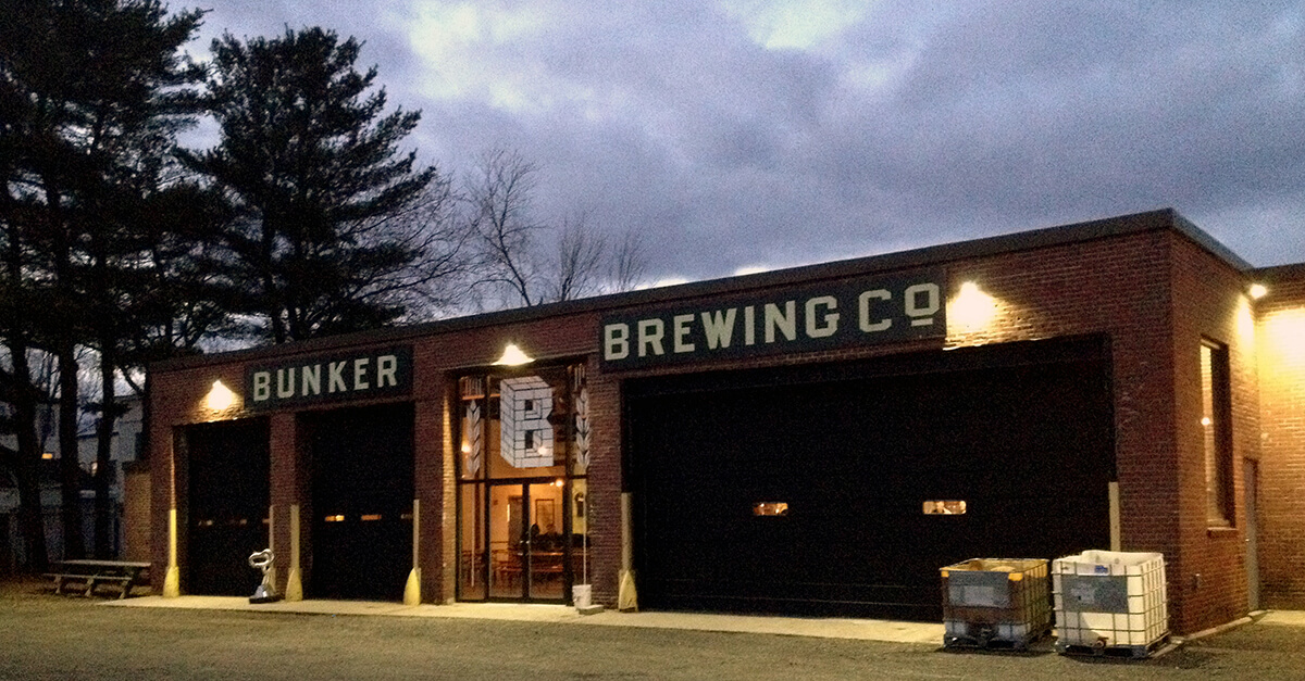 Breweries in Portland, Maine - Bunker