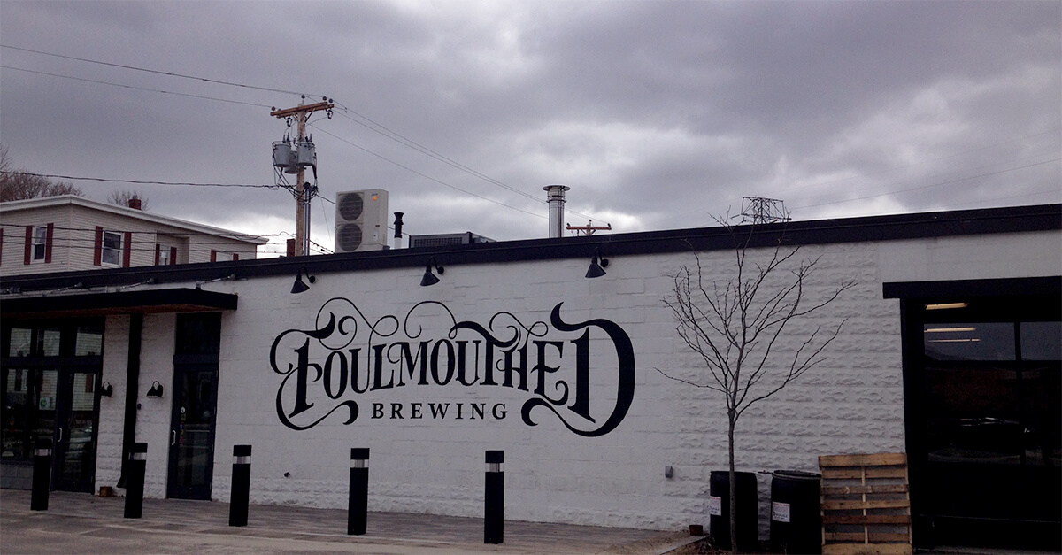 South Portland Maine breweries - Foulmouthed