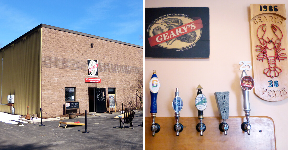 Breweries in Portland, Maine - Gearys