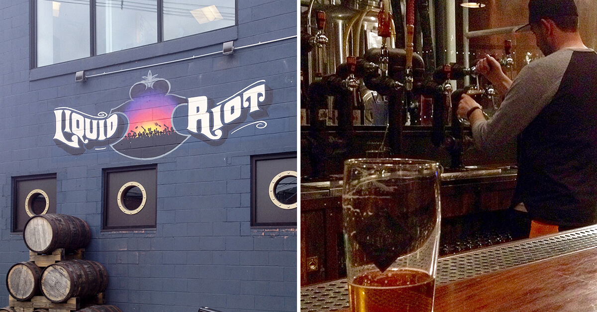 Breweries in Portland, Maine - Liquid Riot