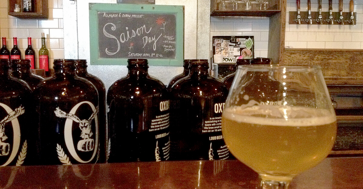 Breweries in Portland, Maine - Oxbow