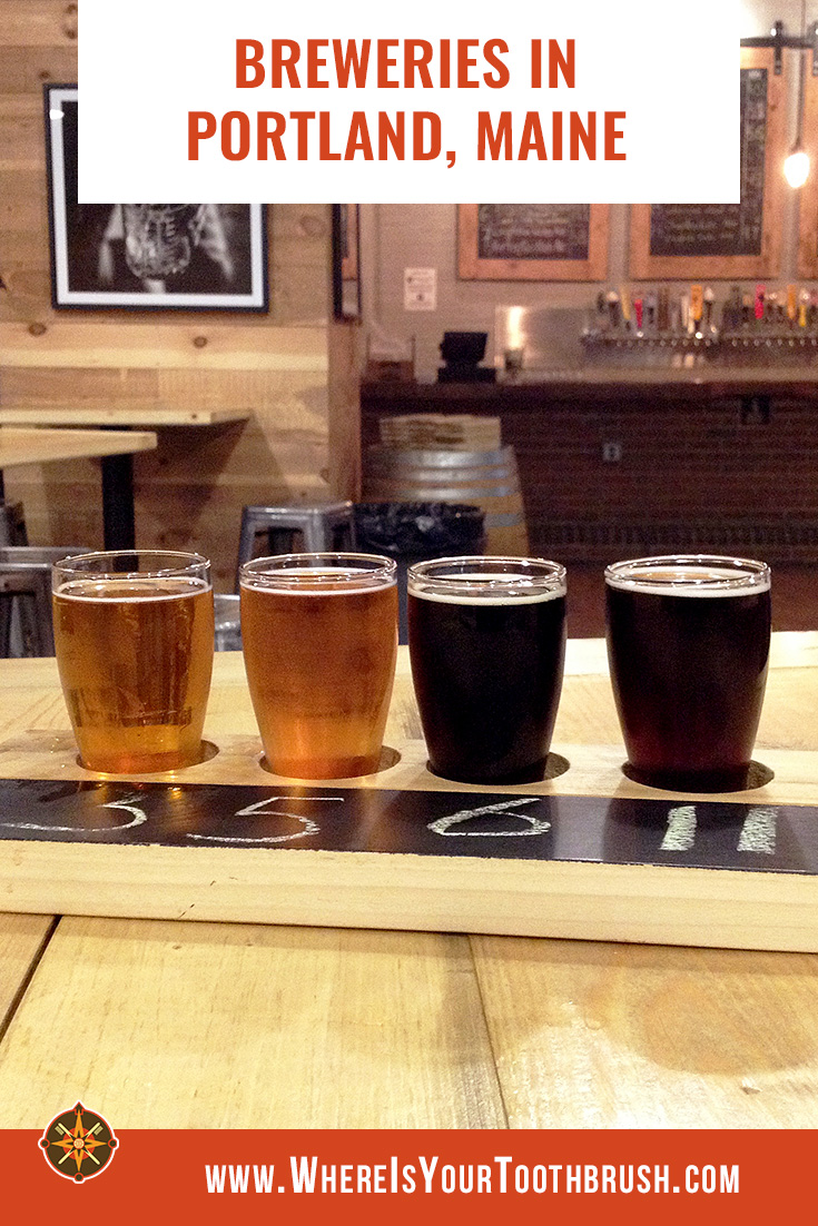 Breweries in Portland, Maine