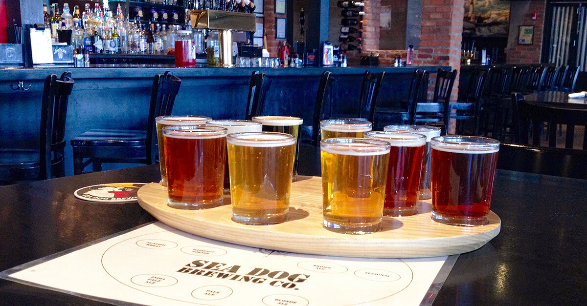 Breweries in South Portland, Maine - Sea Dog
