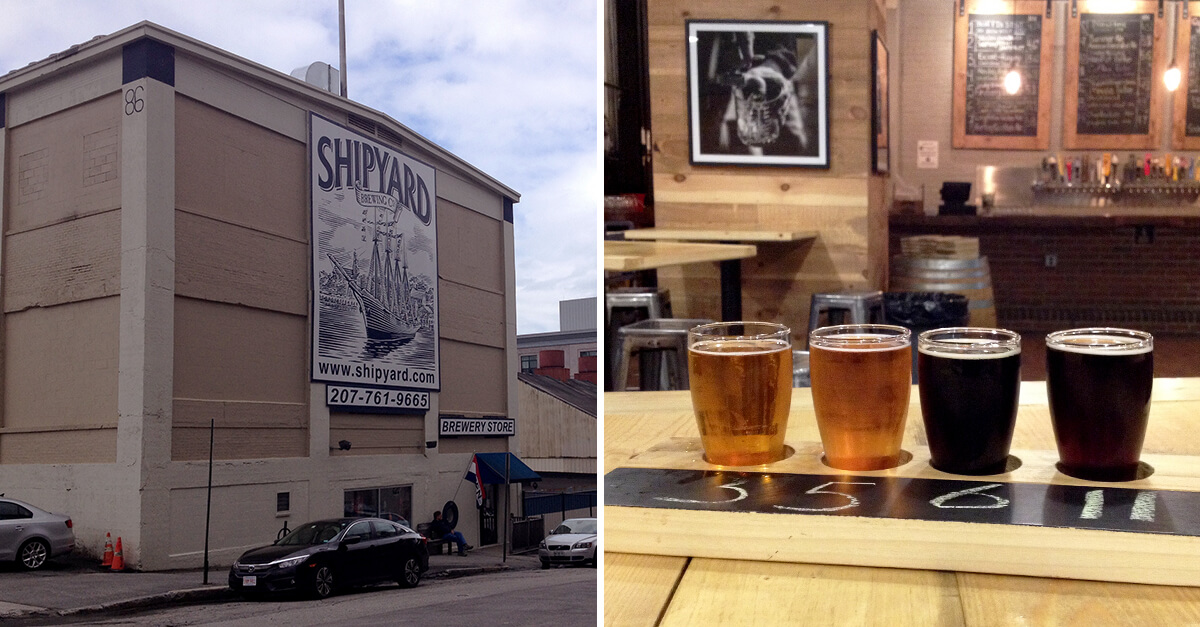 Best Portland Maine breweries - Shipyard