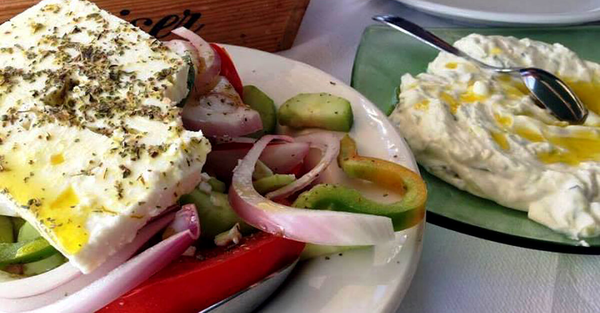 Salad World - Greek Salad in Hydra
