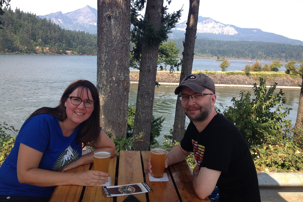 Best craft brewery with a view - Thunder Island