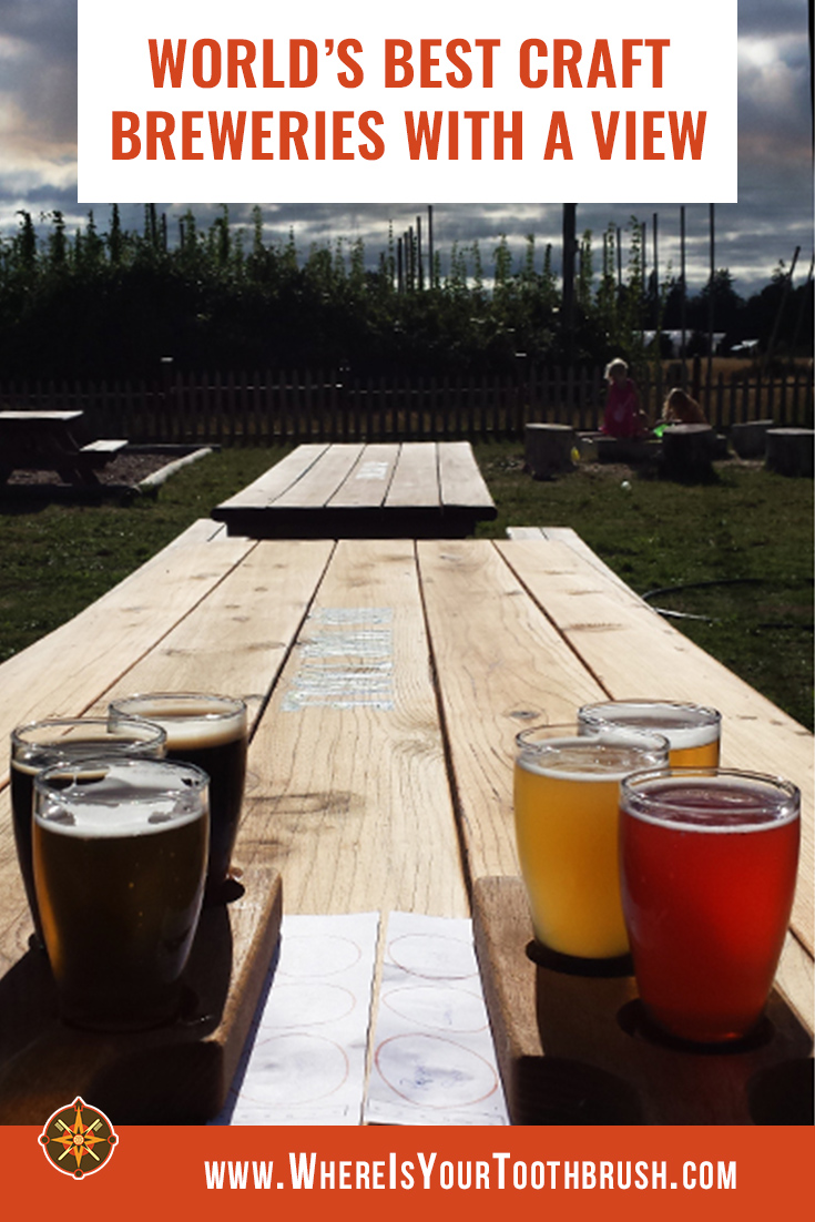 Craft breweries with a view - Pin1