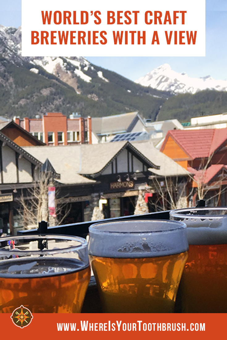 Craft breweries with a view - Pin2
