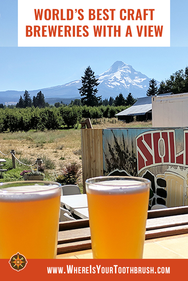 Craft breweries with a view - Pin3