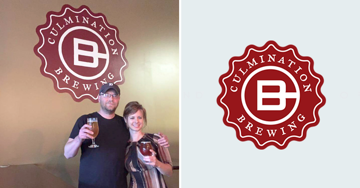 Culmination Brewing - Owners and logo