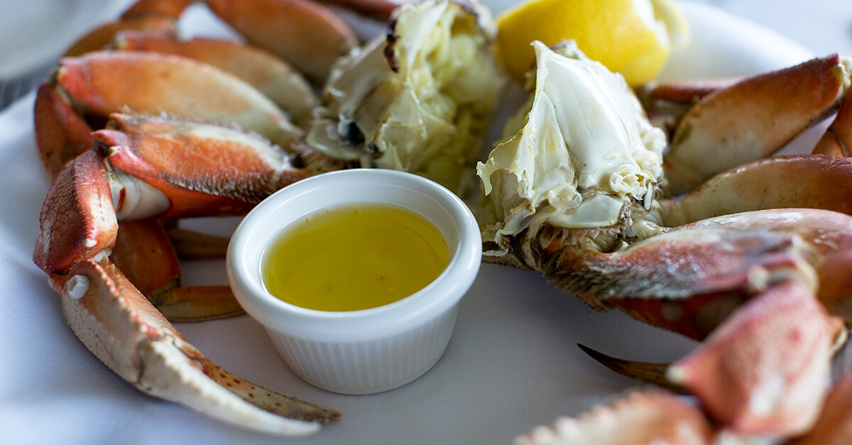 Portland vs Seattle - Dungeness crab