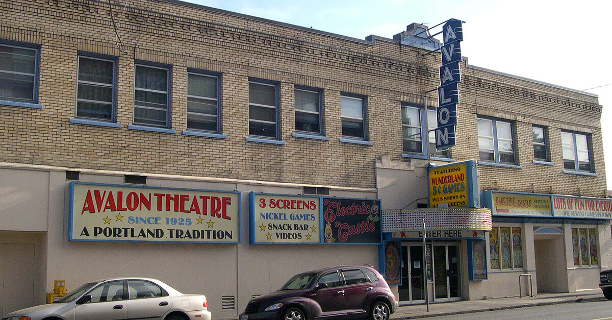 Weird things to do in Portland - Avalon Theatre