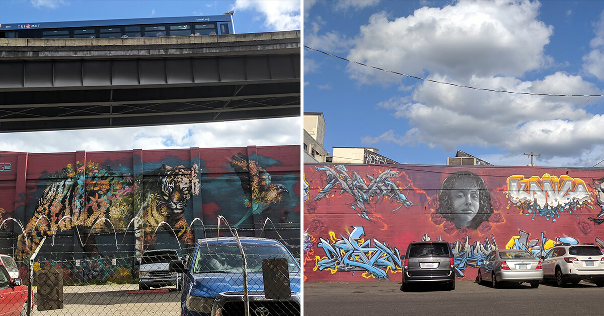 Weird things to do in Portland OR - Murals