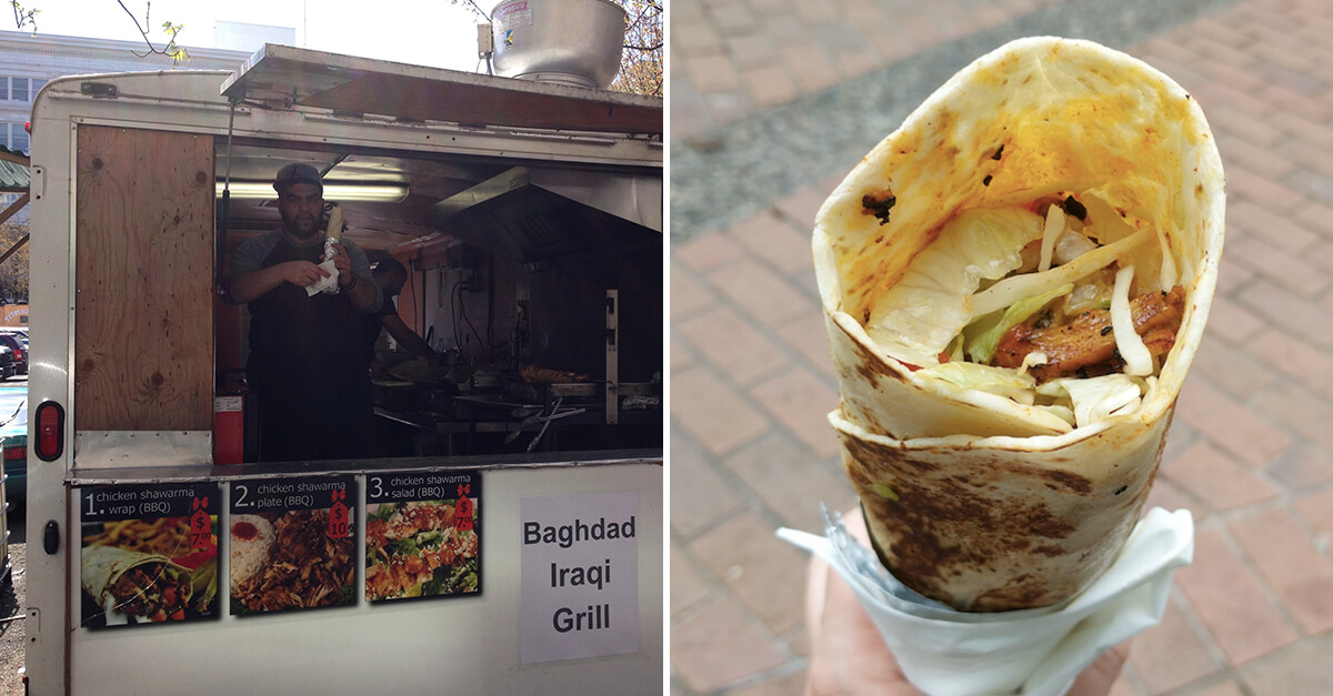Weird things to do in Portland, Ore - Baghdad Iraqi Grill