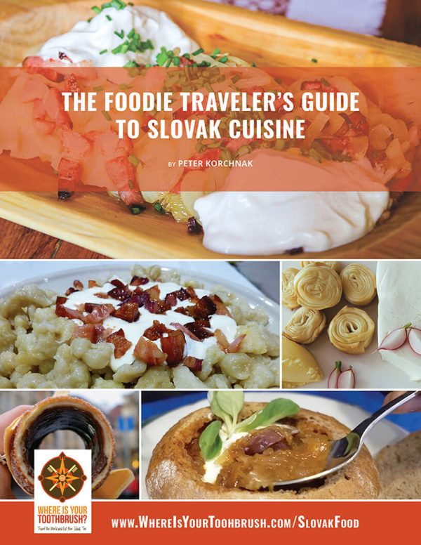 The Foodie Traveler's Guide to Slovak Cuisine - Cover