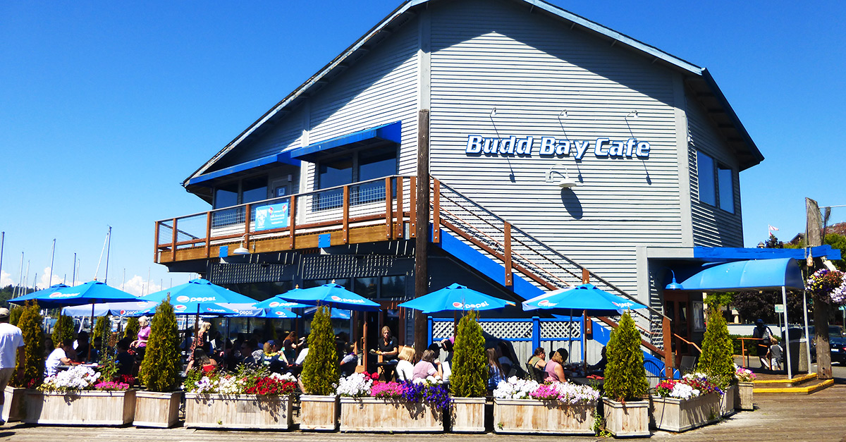 Restaurants Olympia WA waterfront - Budd Bay Cafe