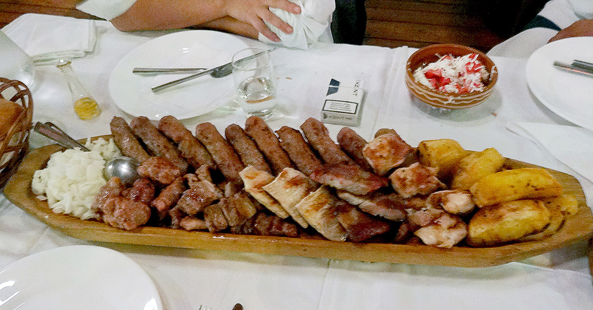 Serbian national food - Meat
